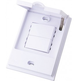 Conjunto Interruptor Duplo Simples - Linha B.L'acqua