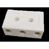 Conector Porcelana Médio - 16mm² - 3 Pólos - INTERNEED
