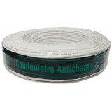 Cabo Eletrico Flexivel 1,5mm 100mts Branco - CONDUELETRO