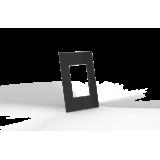 Conjunto Placa para 3 Módulos - Beleze Preto