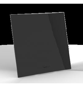 Conjunto Placa Cega 4x4 Com Suporte - Beleze Preto