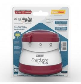 Enerducha Plus Vermelho Vinho - 220V / 5400W - Enerbras