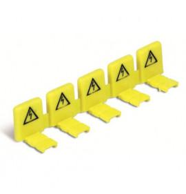 Isolador de Proteção para Pino Fase Amarelo - Enerbras