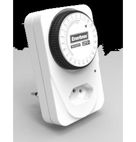 Temporizador Analógico - 127V - Enerbras