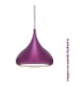 Pendente Moderno Luminária Chapel Violeta
