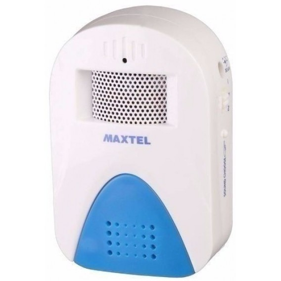 Sensor Anunciador De Presença Branco com Azul Maxtel