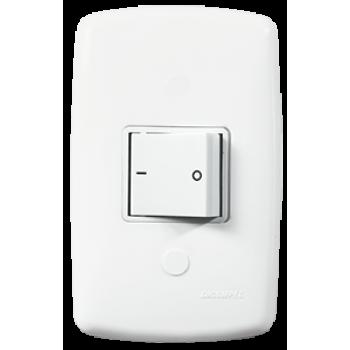 Conjunto Interruptor Intermediario 4x2 - Mônaco