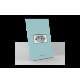 Conjunto Tomada 10A - Beleze Verde Pastel