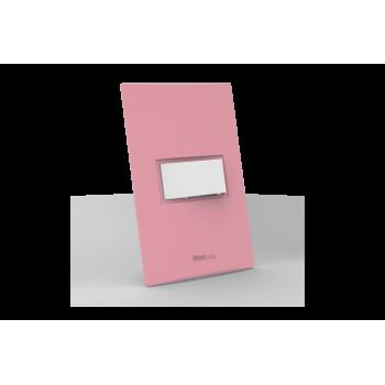 Conjunto Interruptor Paralelo - Beleze Rosa Pastel