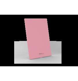 Placa Cega 4x2 - Beleze Rosa Pastel