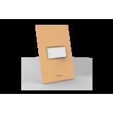 Conjunto Interruptor Simples - Beleze Laranja Pastel