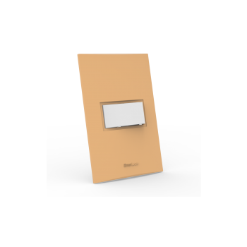 Conjunto Interruptor Paralelo - Beleze Laranja Pastel