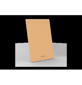 Placa Cega 4x2 - Beleze Laranja Pastel