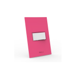 Conjunto Interruptor Simples - Beleze Rosa