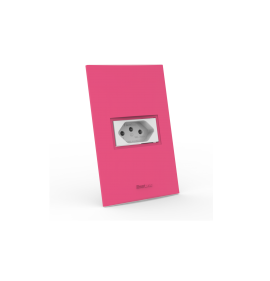 Conjunto Tomada 10A - Beleze Rosa