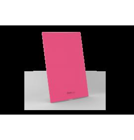 Placa Cega 4x2 - Beleze Rosa