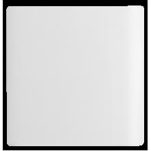 Placa Cega 4x4 - Novara White