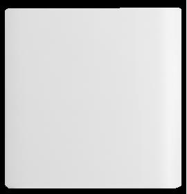 Placa Cega 4x4 - Novara Branco Brilhante