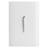 Conjunto Interruptor Paralelo Vertical 4x2 - Novara White