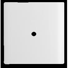 Placa com Furo 4x4  - Novara White