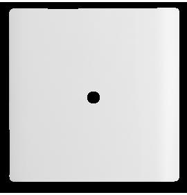 Placa com Furo 4x4  - Novara Branco Brilhante