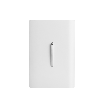 Conjunto Interruptor Simples Vertical 4x2 - Novara White