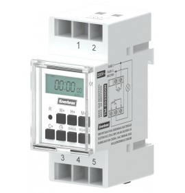 Temporizador Digital Para Trilho Din 220v - Enerbras