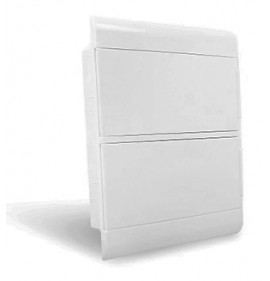 Quadro Ouro Box 24 Módulo DIN Embutir - STECK