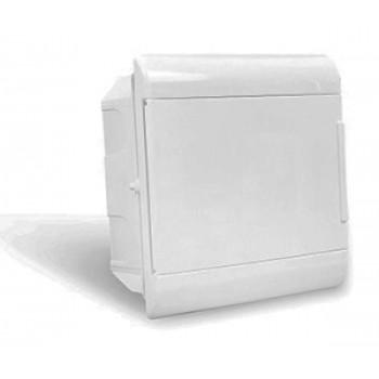 Quadro Ouro Box 08 Módulo DIN Embutir - STECK