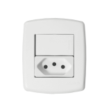 Interruptor Paralelo + Tomada 10A - Sistema X Veneza
