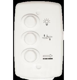 Conjunto Controle Ventilador 3 Teclas 127V 12A