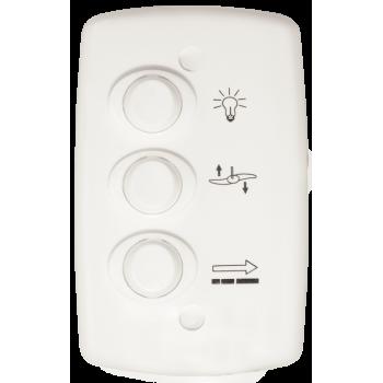 Conjunto Controle Ventilador 3 Teclas 127V 6A