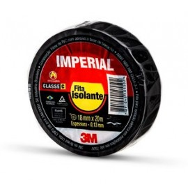Fita Isolante Imperial 3M 20MTS X 18MM