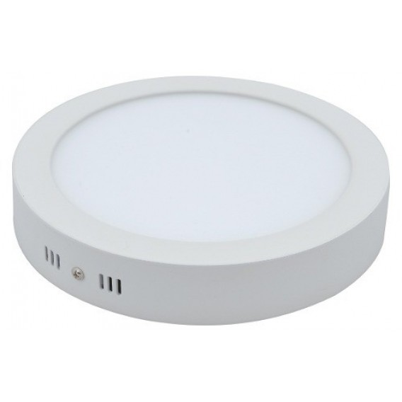 Painel de LED 24W Redondo - 6000K Embutir