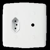 Conjunto Tomada 10A + Conector para Antena 4x4 - Mônaco
