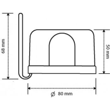 Relê Fotocélula Fácil Bivolt Techna - RF-001